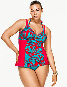 Double strap tankini top by Sophie Theallet