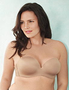 Strapless balconette bra by Cacique