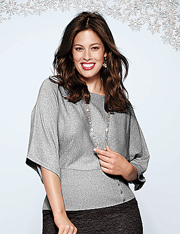 Plus Size Kabuki Sweater by Lane Bryant