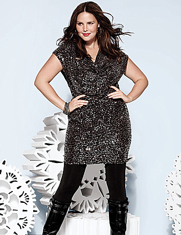 Plus Size Sequin Dress by Lane Bryant