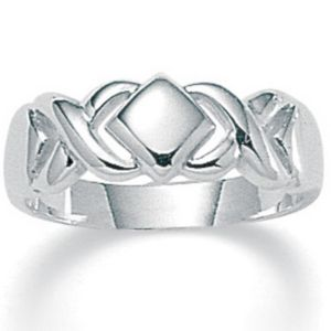 Hugs & Kisses SS Ring