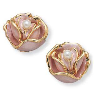 Sim. Pearl Flower Earring