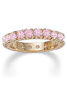 Pink Ice Cubic Zirconia Band by PalmBeach Jewelry