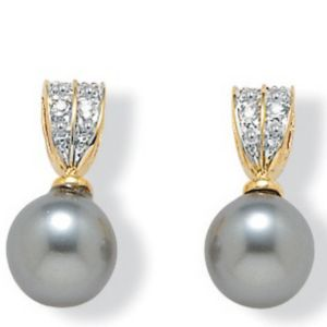 Sim. Pearl Earrings