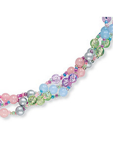 Pastel Lucite Necklace 30