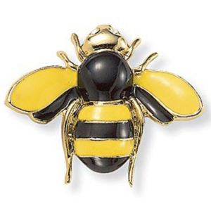Bumblebee Crystal Accent Pin