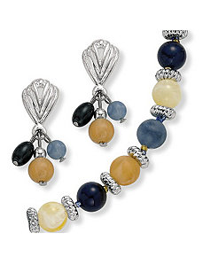 2-Piece Lucite Set by PalmBeach Jewelry