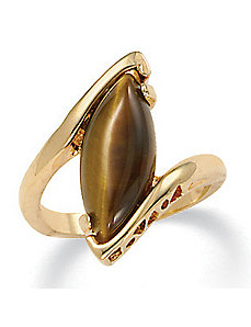 Tigers-Eye Ring by PalmBeach Jewelry