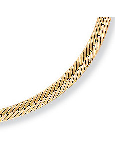 "Herringbone 20"" by PalmBeach Jewelry"