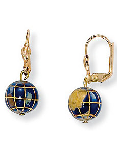 Mosaic Earrings by PalmBeach Jewelry