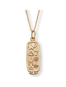 Good Luck Pendant by PalmBeach Jewelry