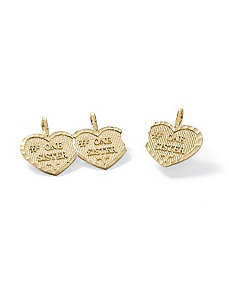 "14k Gold""Sisters""Charms by PalmBeach Jewelry"