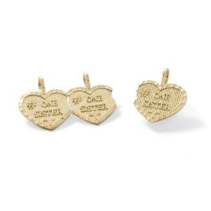 "14k Gold""Sisters""Charms"
