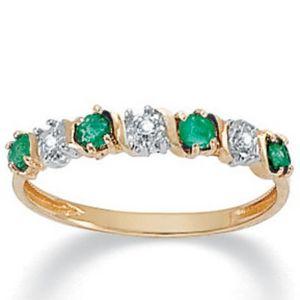 Emerald 10k Ring
