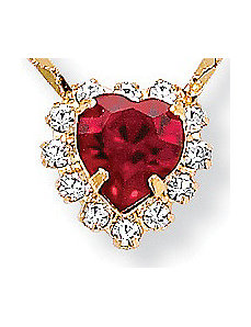 Heart Pendant by PalmBeach Jewelry