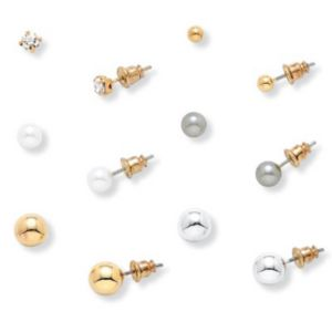 6-Pair Earring Set