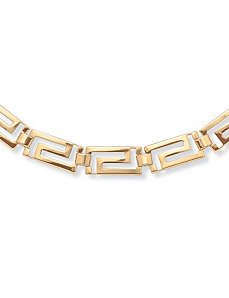 "Greek Key""Necklace by PalmBeach Jewelry"