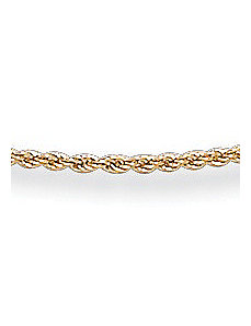 "14k Gold Rope 18"" by PalmBeach Jewelry"