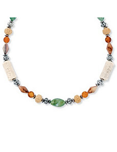 Multi-Colored Lucite Necklace by PalmBeach Jewelry
