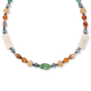 Multi-Colored Lucite Necklace