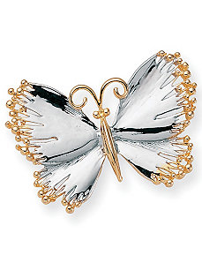 Butterfly Pin by PalmBeach Jewelry