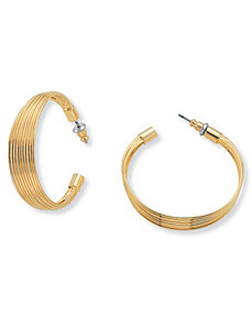 Multi-Wire Earrings by PalmBeach Jewelry