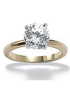Tutonecubic zirconia Engagement Ring by PalmBeach Jewelry
