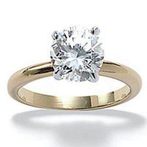 Tutonecubic zirconia Engagement Ring