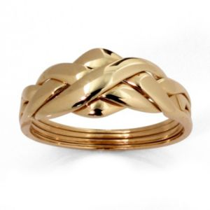 10k Gold Puzzle Ring