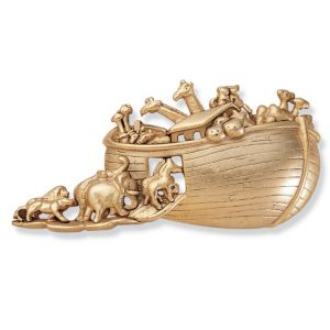 Antiqued Noah's Ark Pin