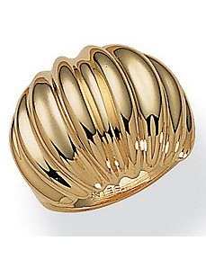 Dome Shrimp Ring by PalmBeach Jewelry
