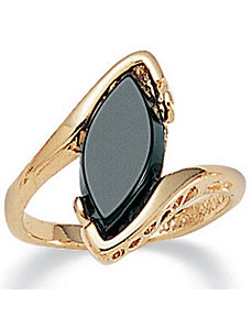 Onyx Ring by PalmBeach Jewelry
