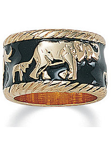 Elephant Ring by PalmBeach Jewelry