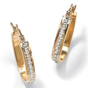 Diamond Fascination 14k Earrings