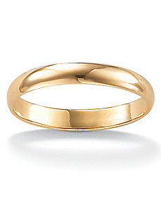 Wedding Ring 14k Gold by PalmBeach Jewelry