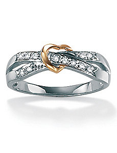 Diamond Acc. 10k Fashion Ring by PalmBeach Jewelry