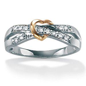 Diamond Acc. 10k Fashion Ring