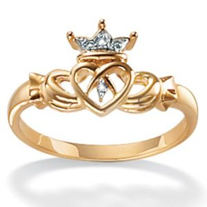 10k Gold Claddagh Ring