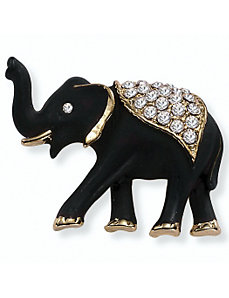Elephant Pin by PalmBeach Jewelry