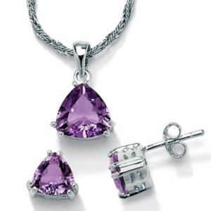 2-Piece Amethyst Set