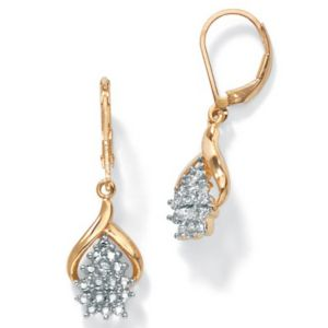 Diamond Accent Pierced Earrings