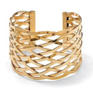 """Lattice Cuff Bracelet 7 1/2"""""""