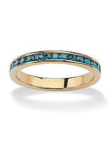Birthstone Eternity Ring by PalmBeach Jewelry