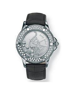 "Baby Phat Crystal Logo Watch 7"" by PalmBeach Jewelry"