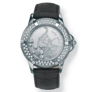 Baby Phat Crystal Logo Watch 7""