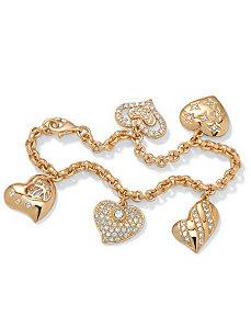 Cubic Zirconia Bracelet by PalmBeach Jewelry