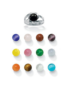 14-Pc. Multi-Stone Ring Set by PalmBeach Jewelry