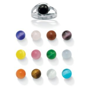 14-Pc. Multi-Stone Ring Set