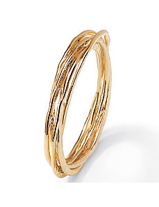 "Rolling Bangle Bracelet 8"" by PalmBeach Jewelry"