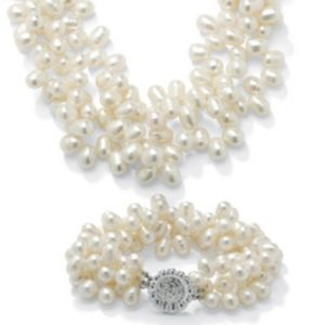 2-Piece Cultured Pearl Set